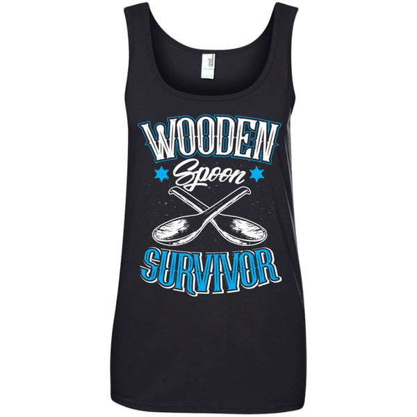Apparel - Wooden Spoon Survivor *Blue