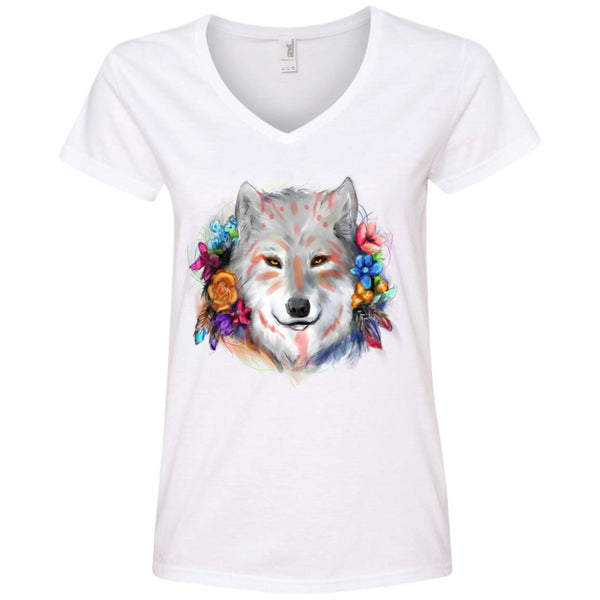 T-Shirts - Ladies' V-Neck Tee