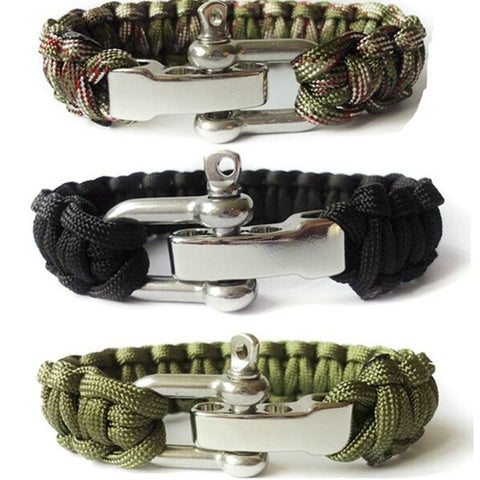 The Buckle Paracord Bracelet