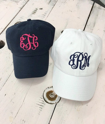 Women's Monogram Baseball Cap