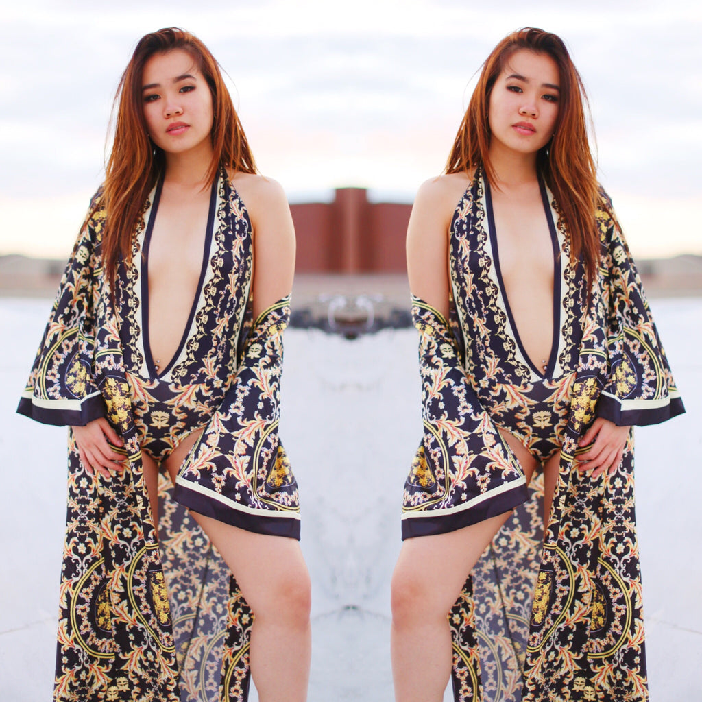 """Empire"" One Piece + Coverup Set"