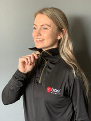 Black BASI Pilates Half Zip - Limited Edition