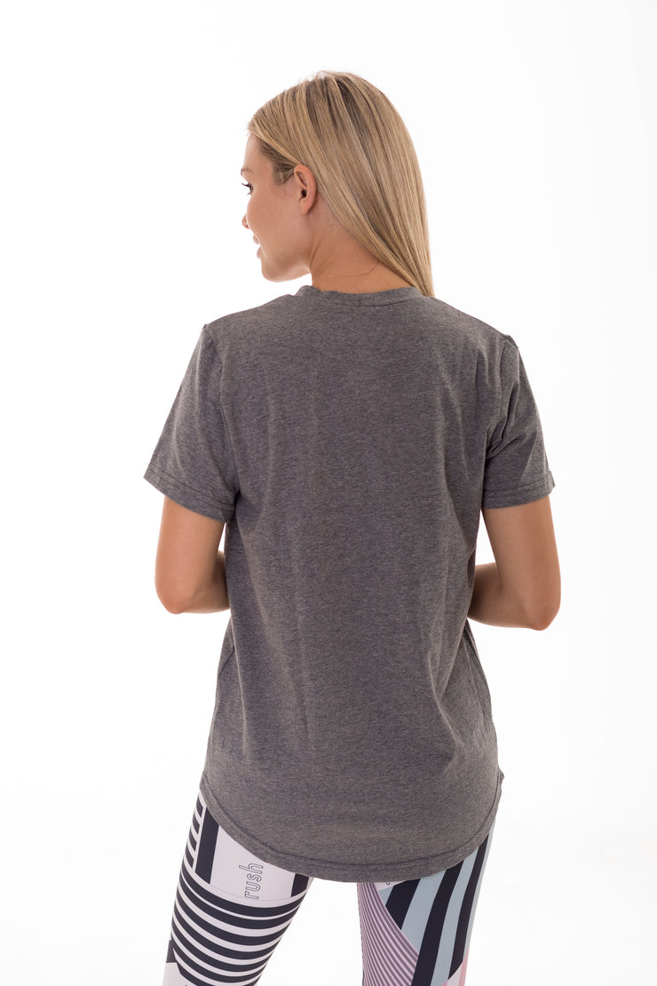 Everyday Easy Grey Tee