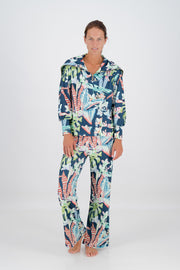 Floral Botanical Heritage Ribbed Pant