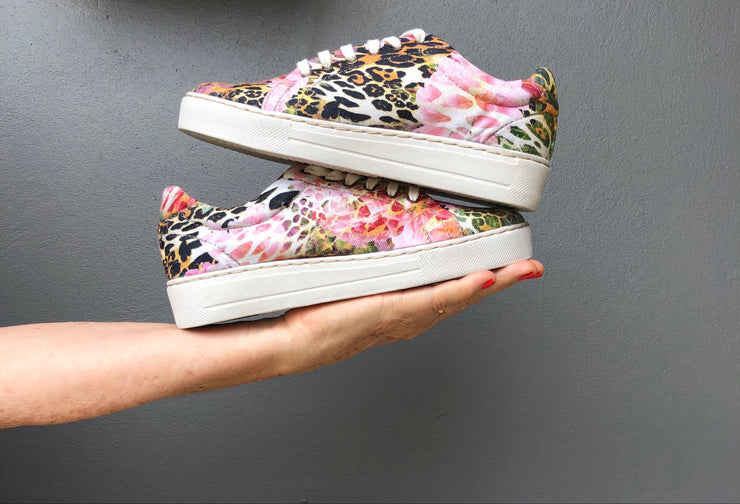 Rose Animal Luxe Sneaker