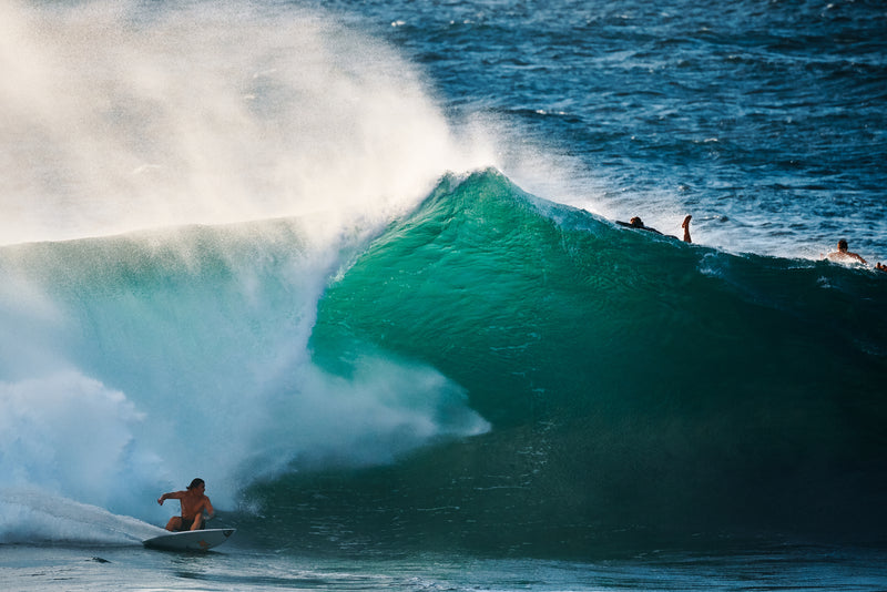 Reef McIntosh surfing