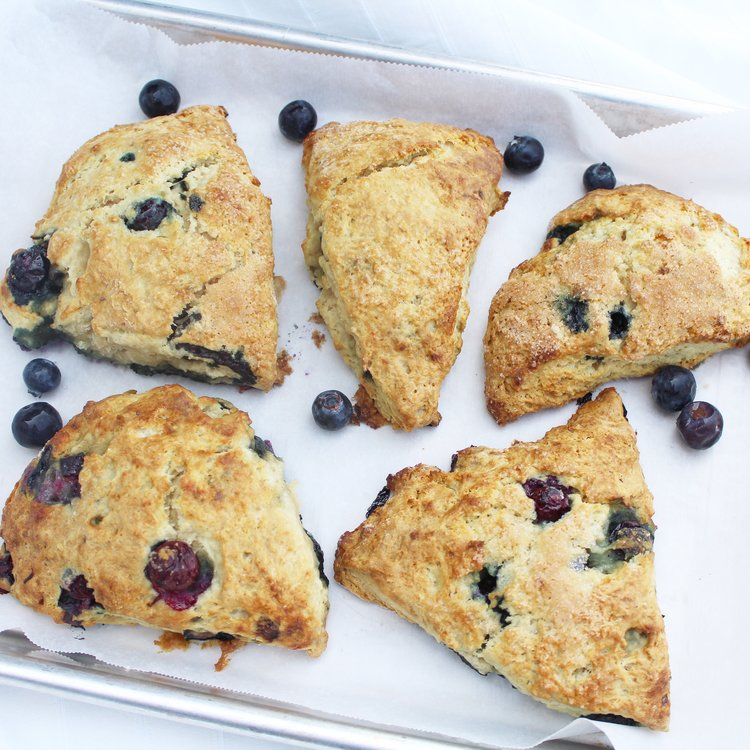 Easy Superfood Blueberry Scone Recipe