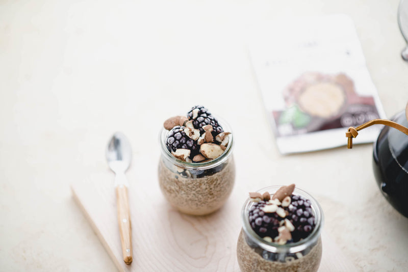 Mocha Chia Seed Pudding Recipe