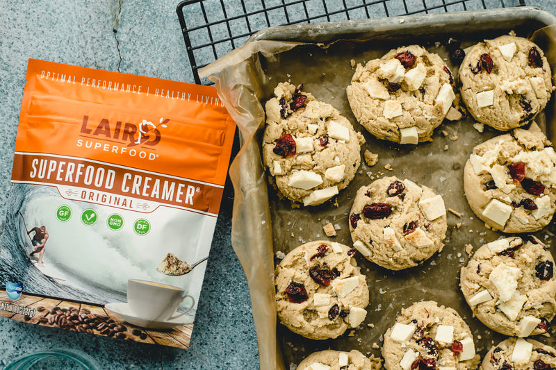 Plant-Based Cranberry White Chocolate Cookie Recipe