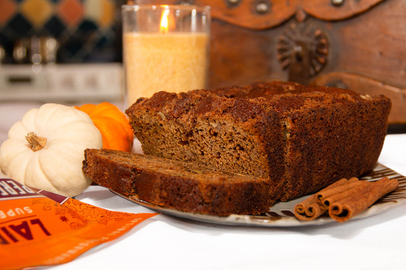 Plant-based Pumpkin Spice Banana Bread