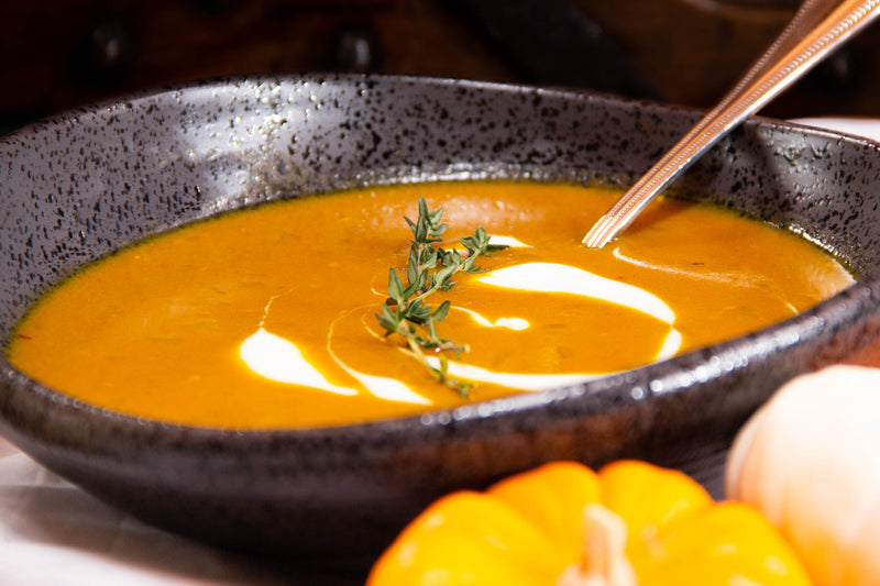 Pumpkin Spice Curry Soup