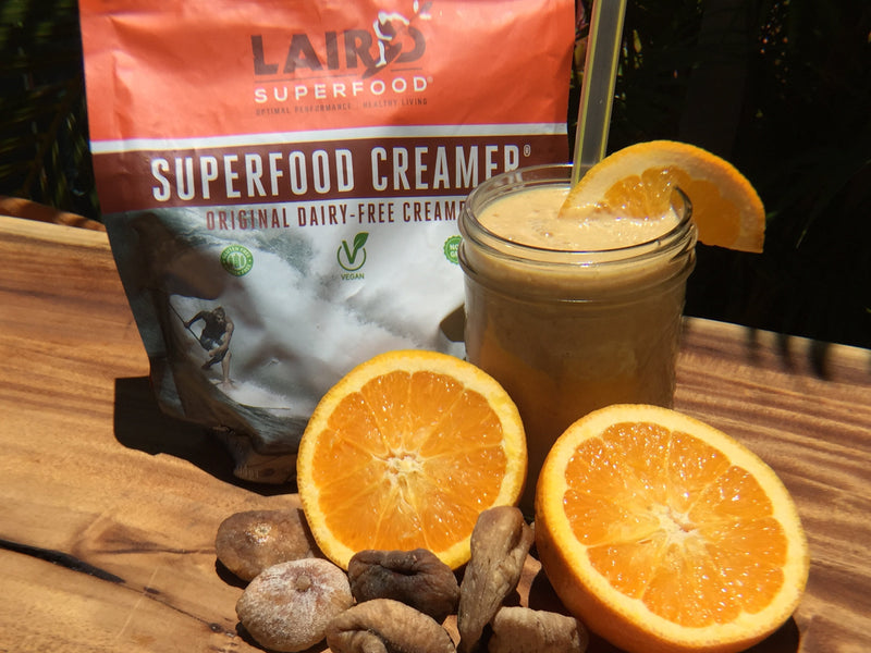 Laird Superfood Orange Whip Smoothie