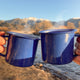 Superfood Golden Milk Latte in Camping Mugs
