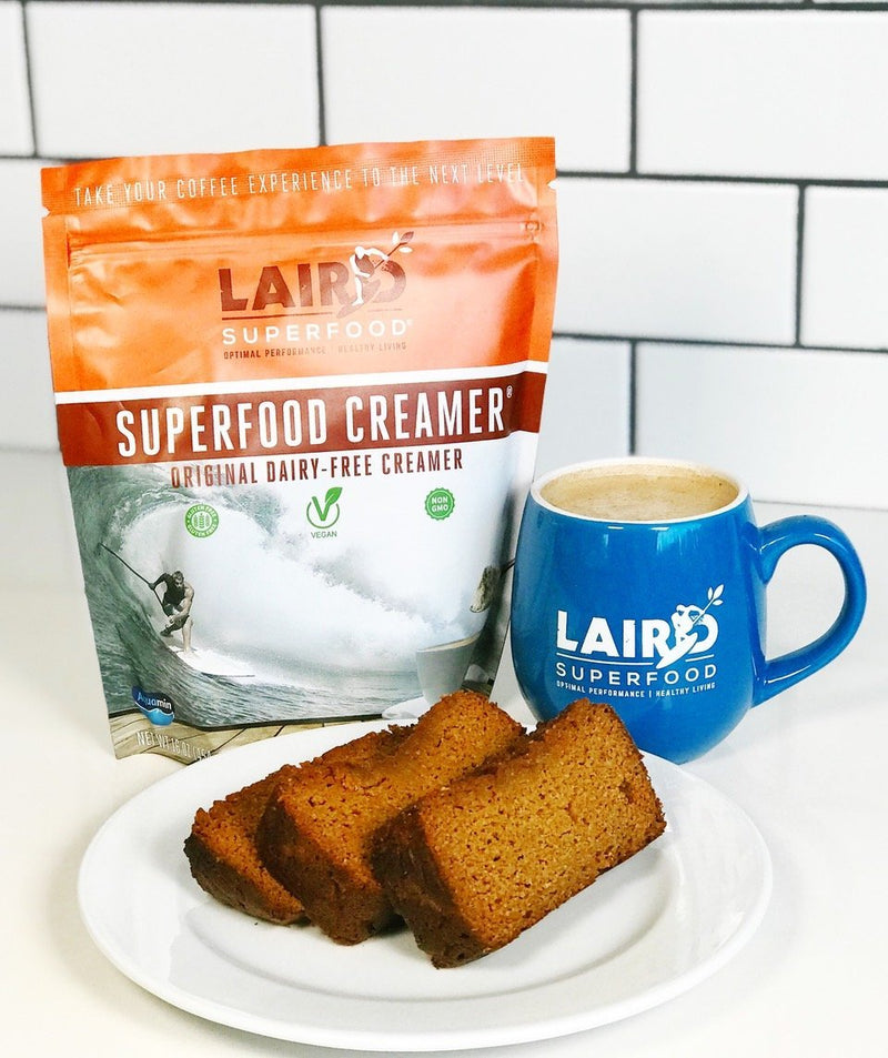 Superfood pumpkin bread recipe