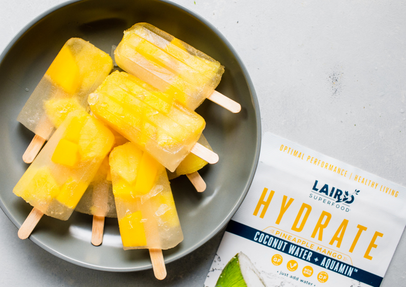 Plant-based Pineapple Mango Popsicle Recipe