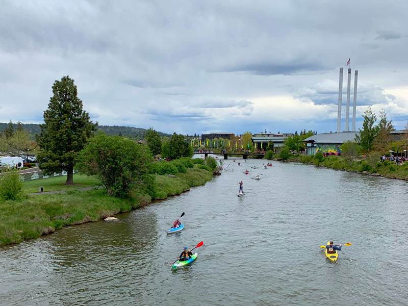 Pole, Pedal, Paddle: Bend's Favorite Race