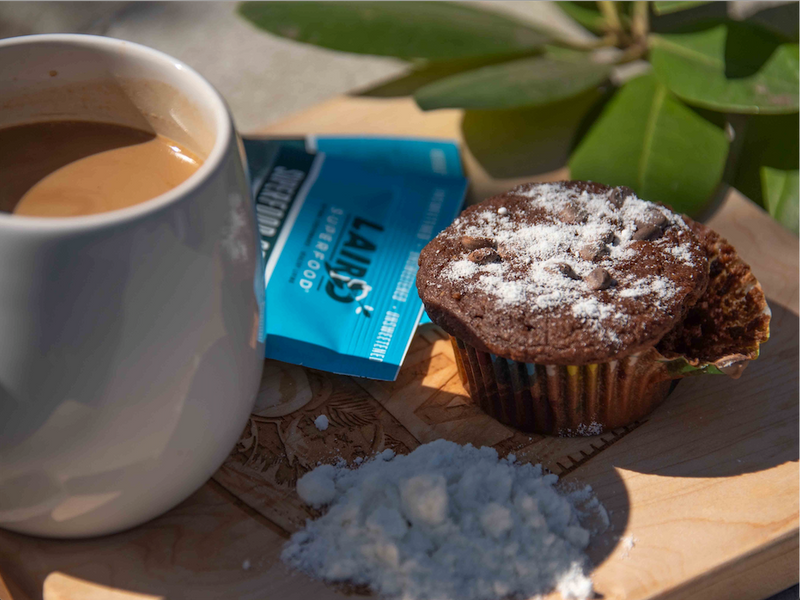 Chocolate Coconut Muffins | Laird Superfood®