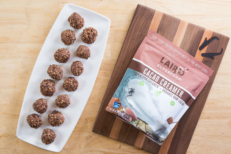 Superfood Cacao energy balls recipe