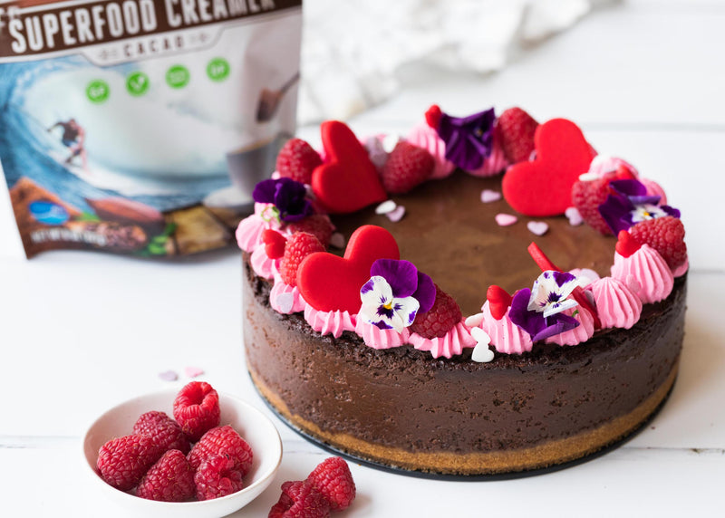 Valentine's Day Chocolate Cheesecake | Laird Superfood