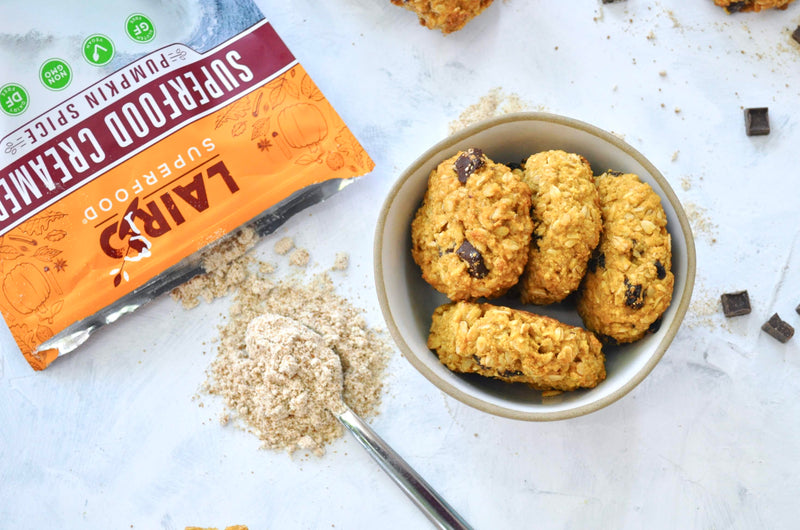 Vegan Pumpkin Spice Breakfast Cookies