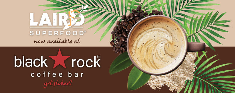 Laird Superfood and BlackRock Coffee Bar
