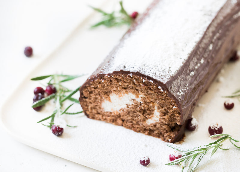 Vegan Yule Log Recipe