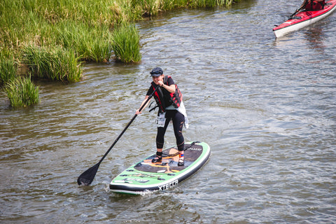 Stand-Up Paddle Board session for Laird Superfood