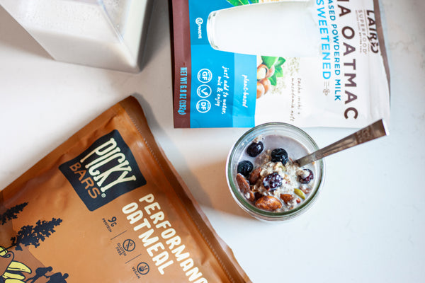 Overnight Oats with Picky Performance Oatmeal