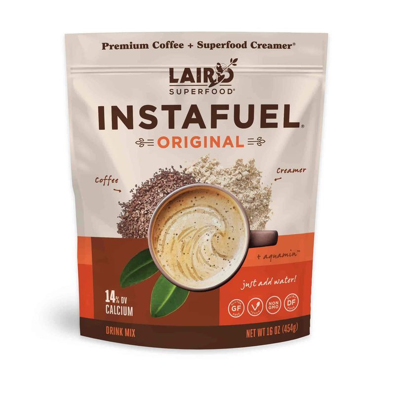 Instant coffee with creamer - instant superfood latte