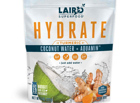 Coconut Water enhanced with turmeric