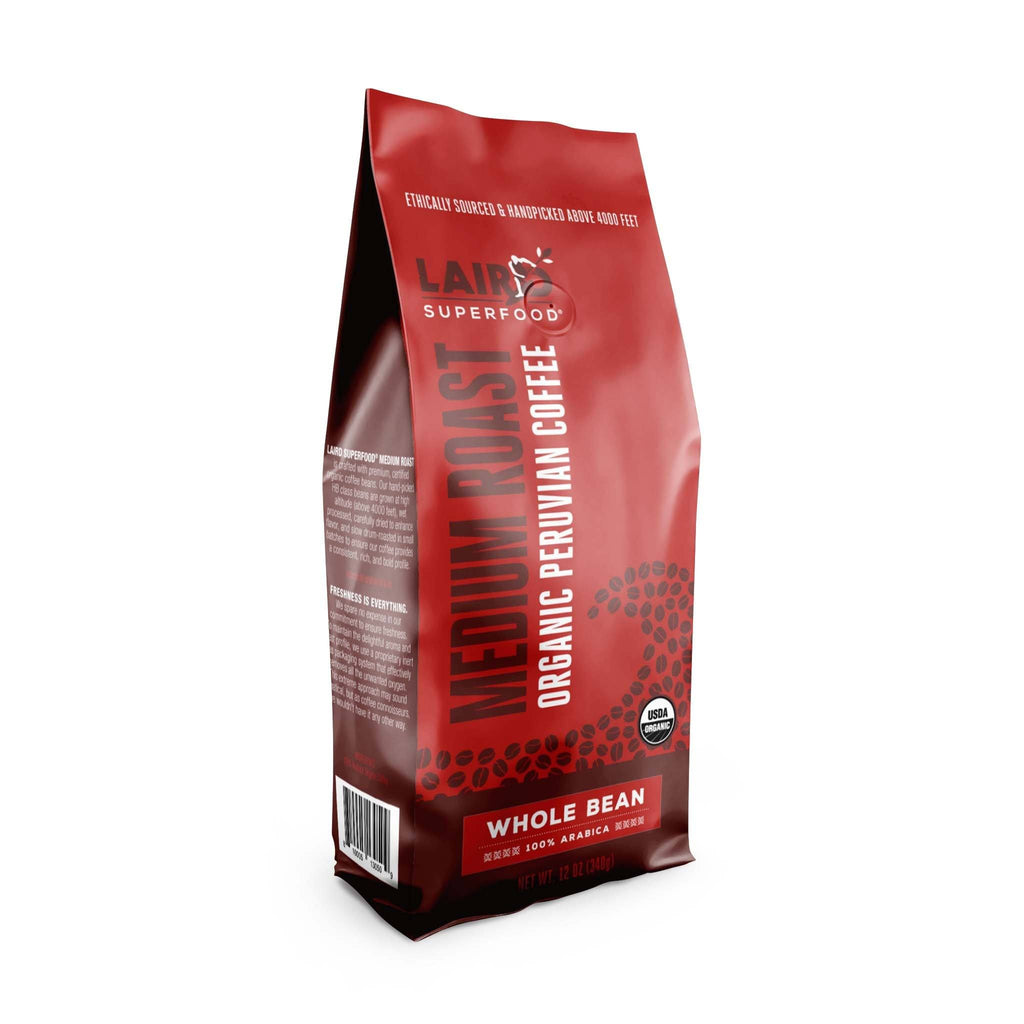 Peruvian Medium Roast Whole Bean Coffee
