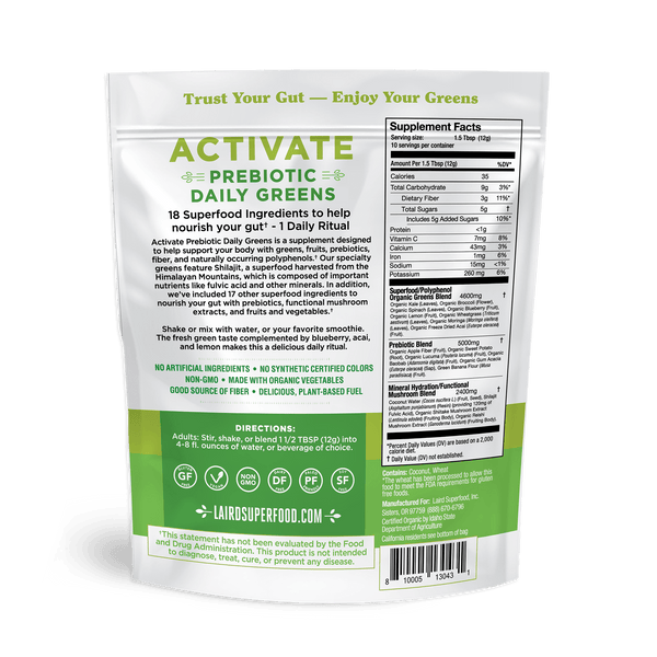 Activate Greens Drink Mix