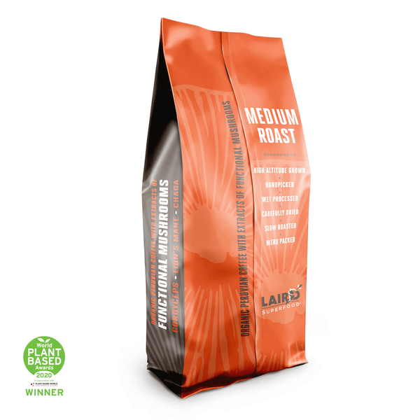 Organic Coffee with Functional Mushrooms