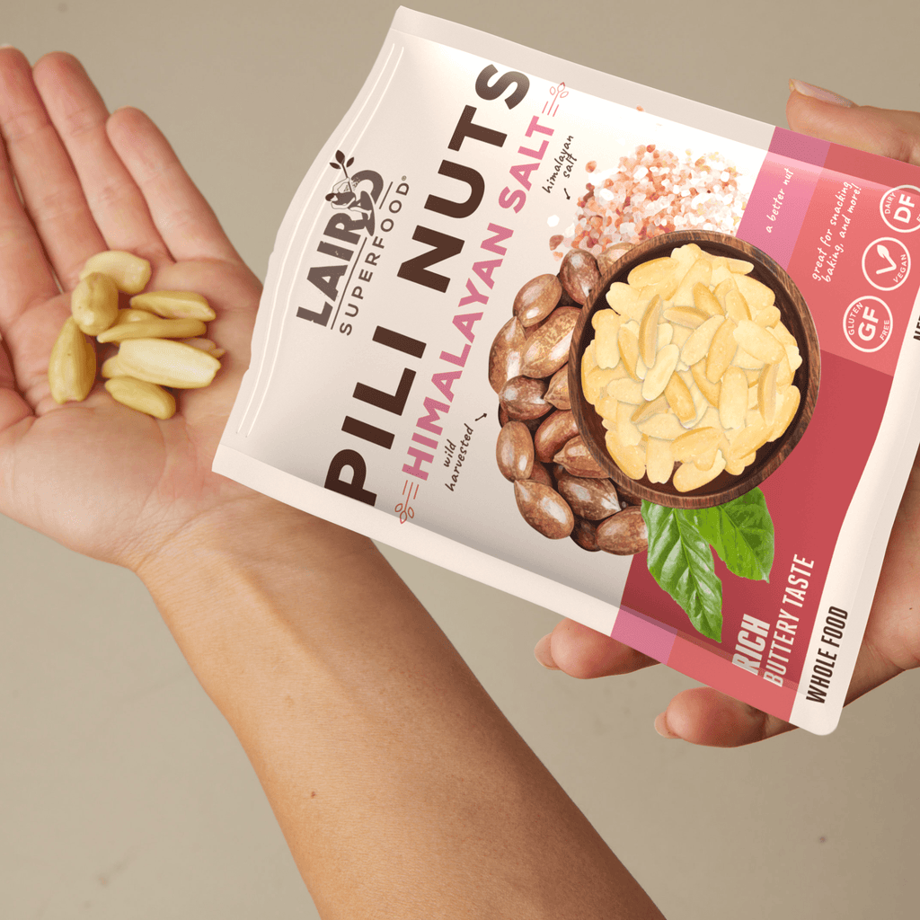 Pili Nuts with Himalayan Salt