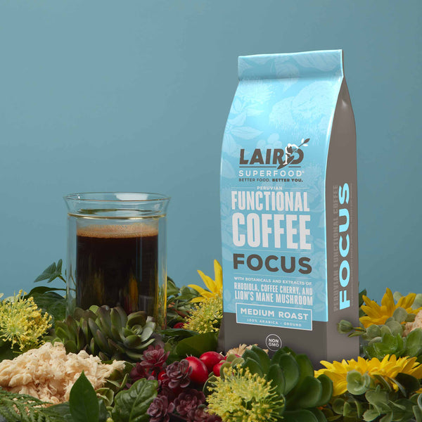 Focus Coffee with Functional Mushrooms