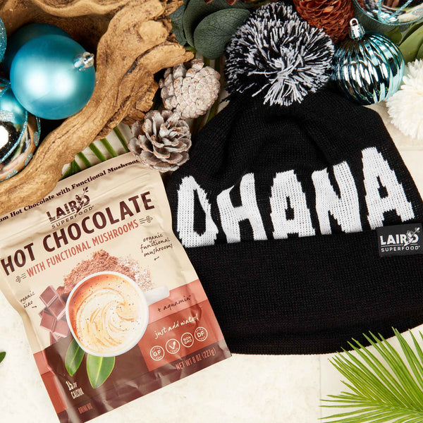 Hot Chocolate with Ohana Beanie Bundle