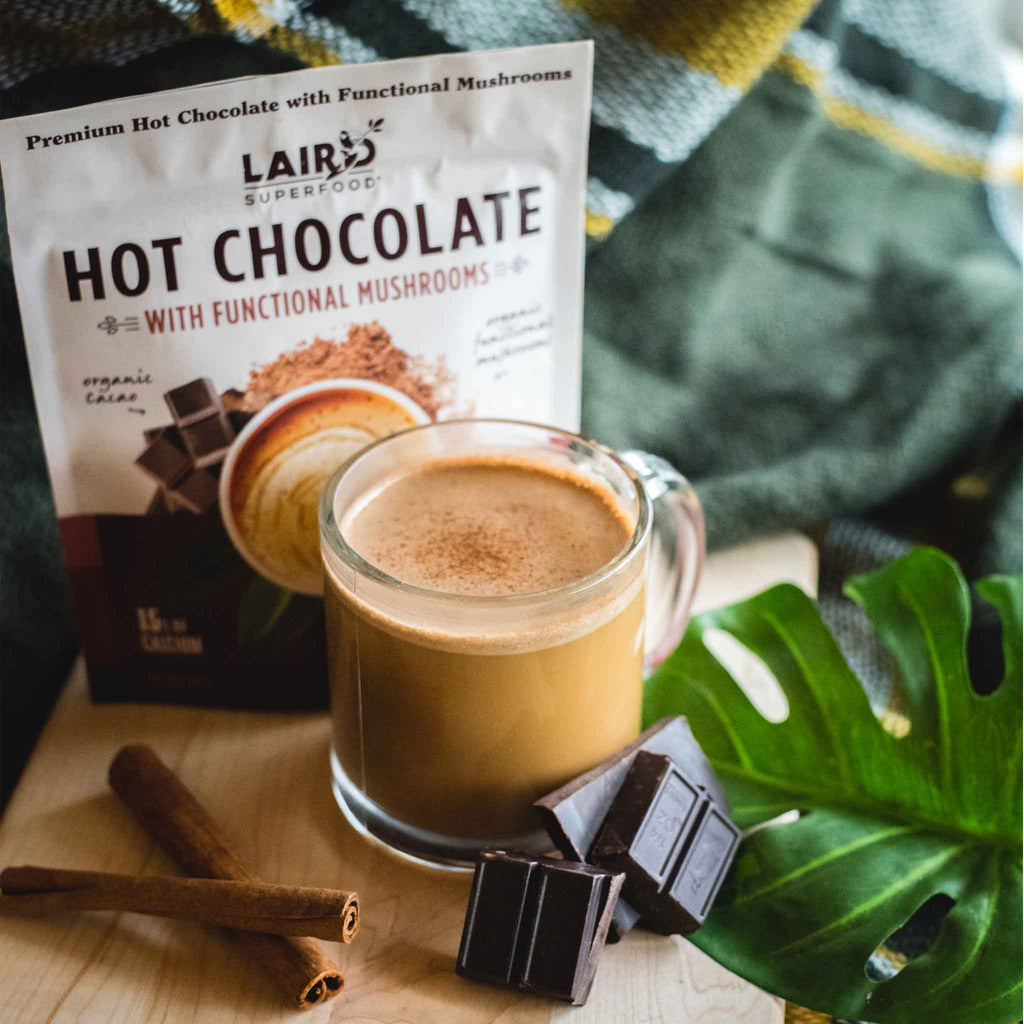 Plant Based Hot Chocolate with Functional Mushrooms
