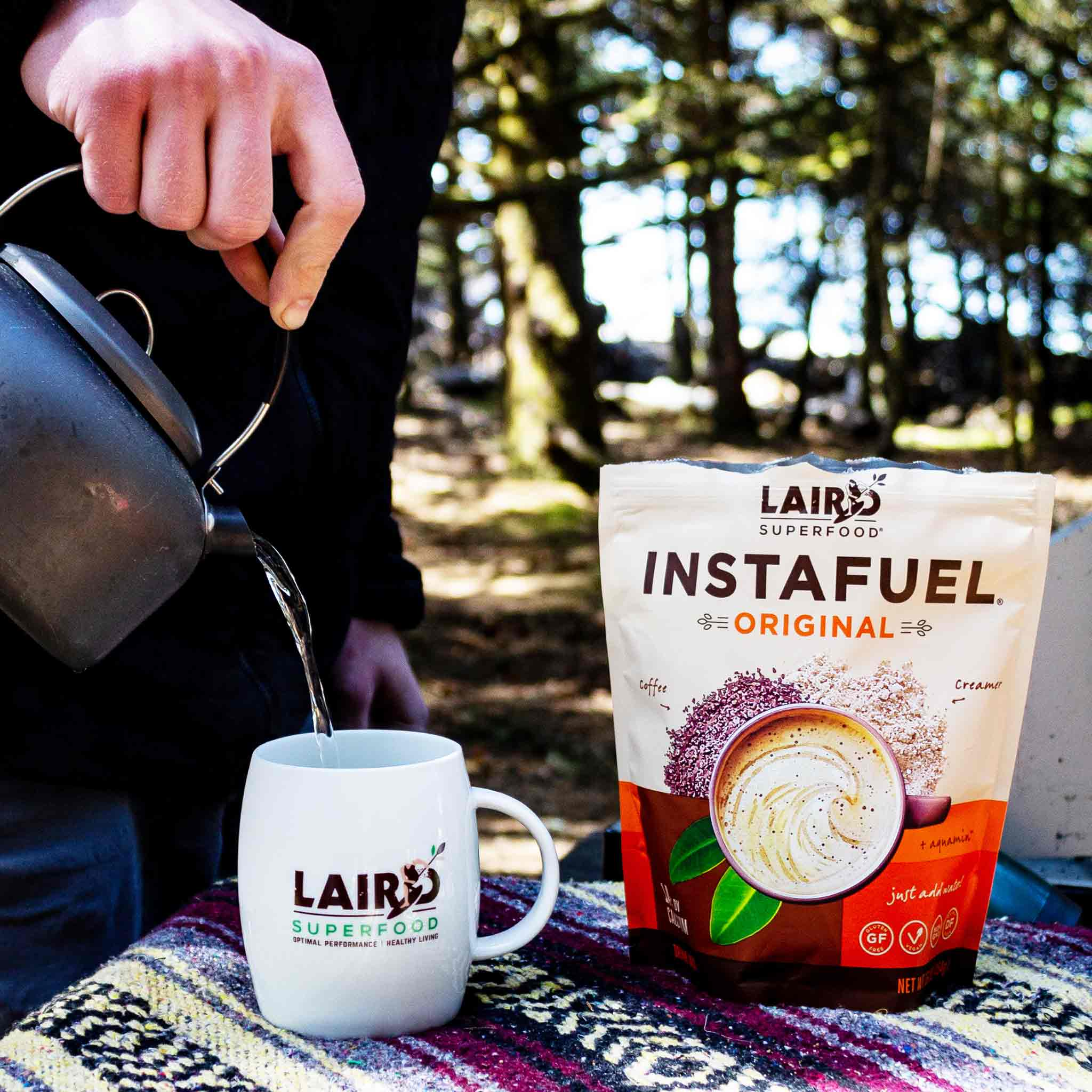 Plant-Based Instant Latte Powder
