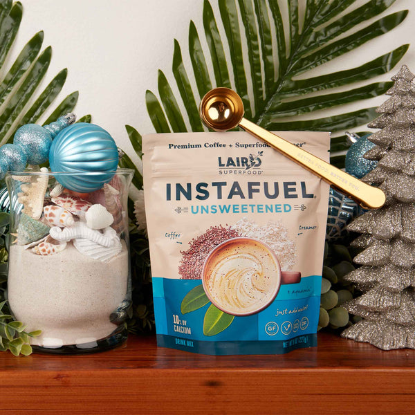 Unsweetened Instafuel + Bag Clip with Scoop
