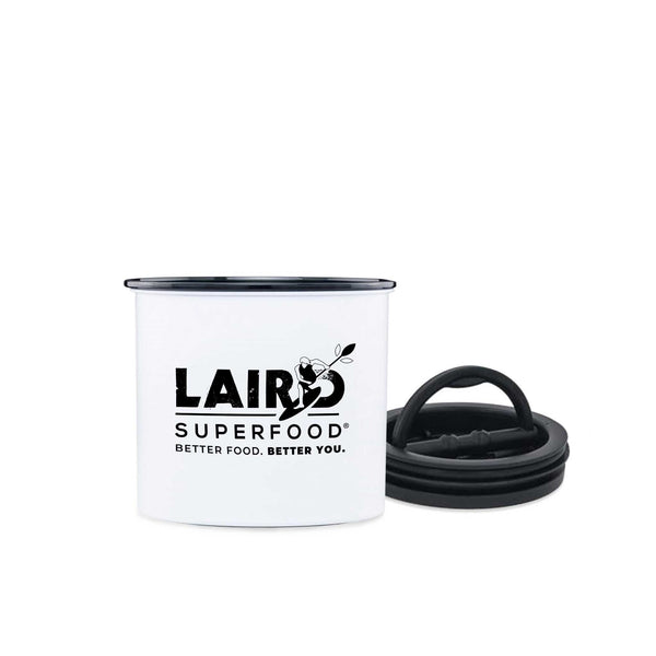 "4"" Airscape Canister, Laird Superfood"