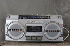 Retro Sharp GF - 4500 Boom Box Ghetto Blaster