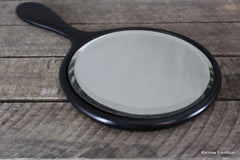 Ebonised Hand Mirror
