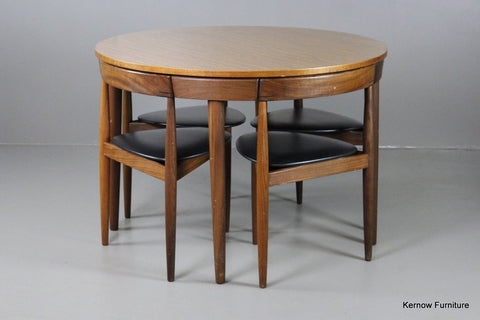 Hans Olsen Frem Rojle Dining table and chairs