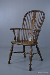 19th Century Oak & Elm Windsor Chair