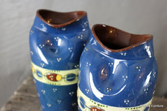 Long Park Pottery Ladybird Design Vase