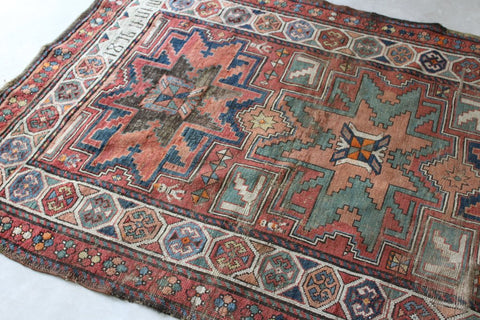 ANTIQUE ARMENIAN GARABAGH RUG