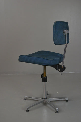 Retro Swivel Office Desk Chair - Kernow Furniture 100s vintage, retro & antique items in stock