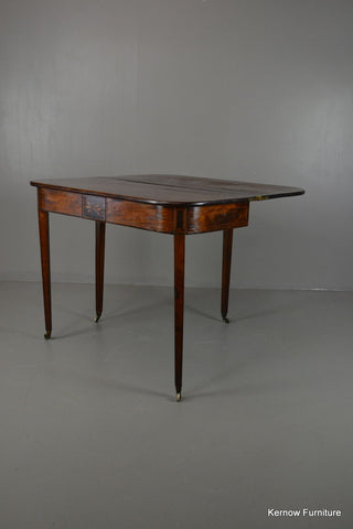 Regency Mahogany Tea Table - Kernow Furniture 100s vintage, retro & antique items in stock