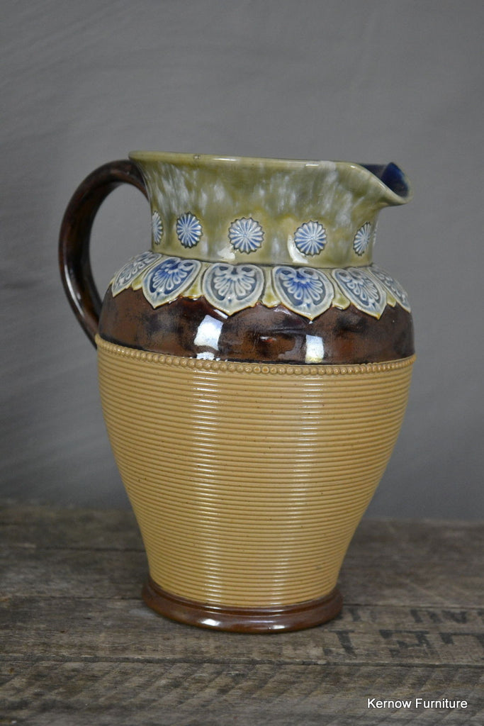 Doulton Lambeth Jug - Kernow Furniture 100s vintage, retro & antique items in stock