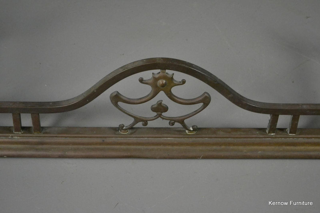Art Nouveau Fire Fender - Kernow Furniture